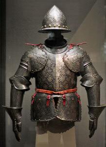 acid metal etching engraving armour