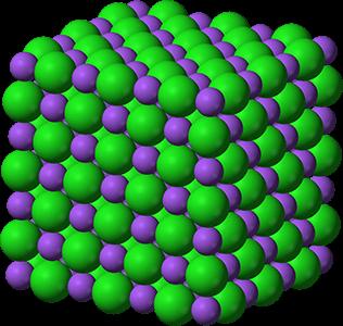 ionic compound lattice