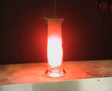 lithium chlorine metal halogen reaction