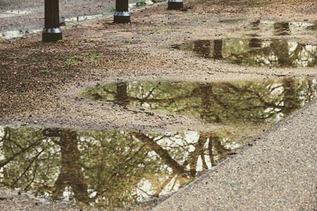 evaporation temperature water vapour puddle