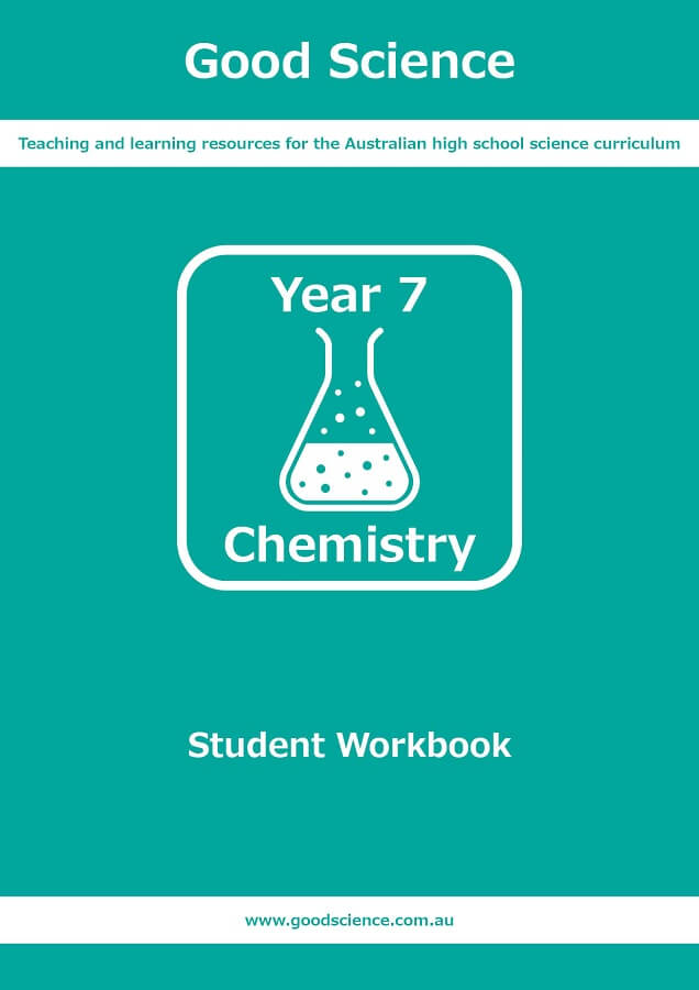 year 7 chemistry pdf workbook