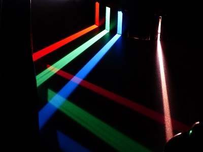 the visible light spectrum and colour