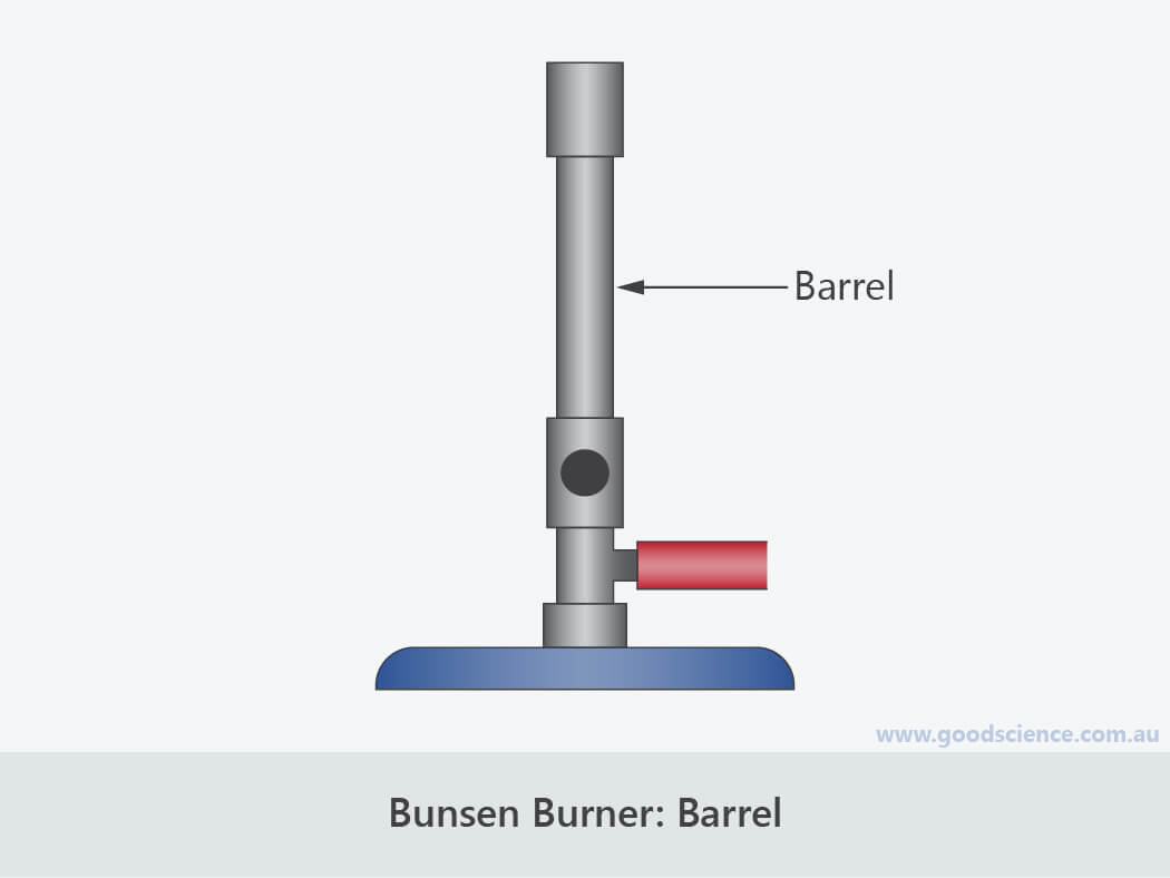 bunsen burner barrel