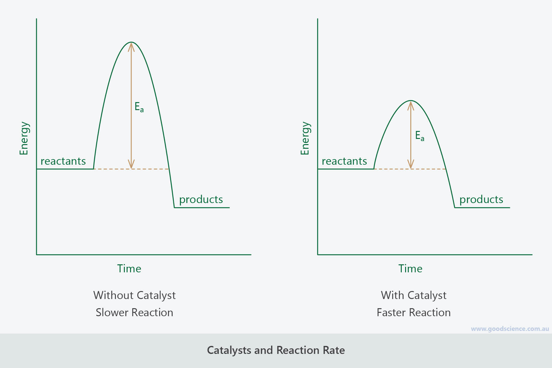 catalyst reaction rate