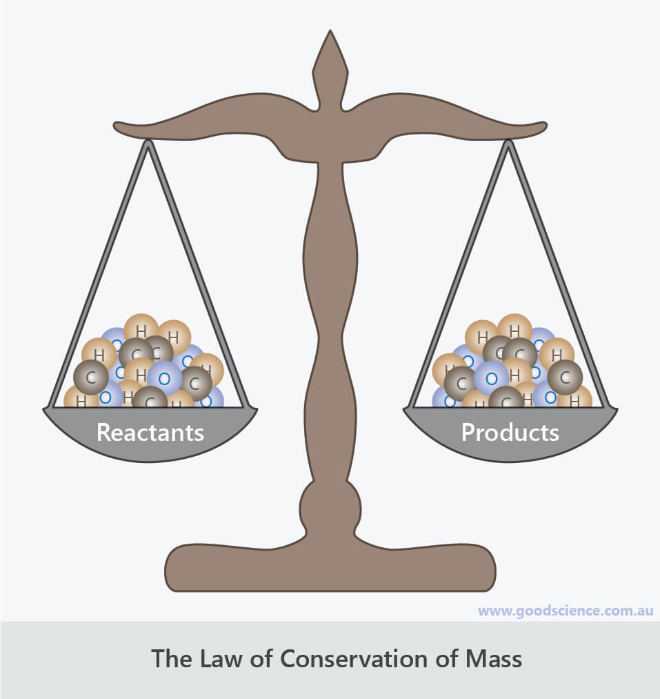 scales conservation of mass