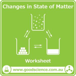 changes in state of matter worksheet
