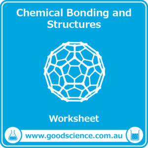 chemical bonding and structures worksheet