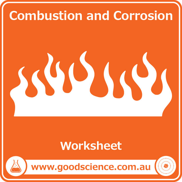 combustion and corrosion worksheet