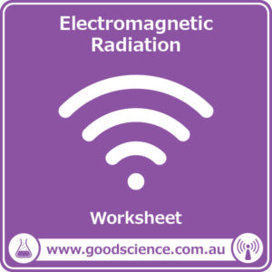 electromagnetic radiation worksheet