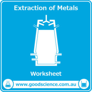 extraction of metals worksheet