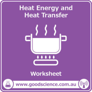 heat energy and heat transfer worksheet
