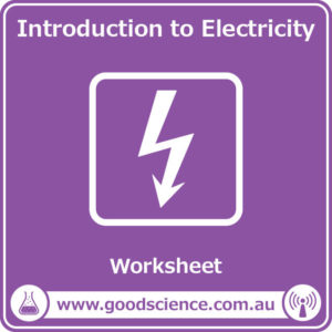 introduction to electricity worksheet