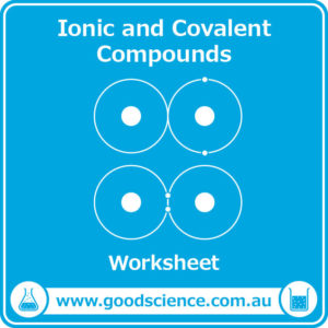 ionic and covalent compounds worksheet