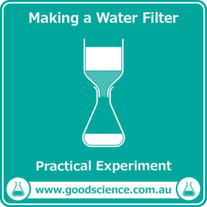 making a water filter practical laboratory experiment