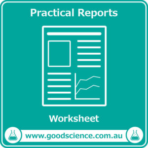 practical reports worksheet