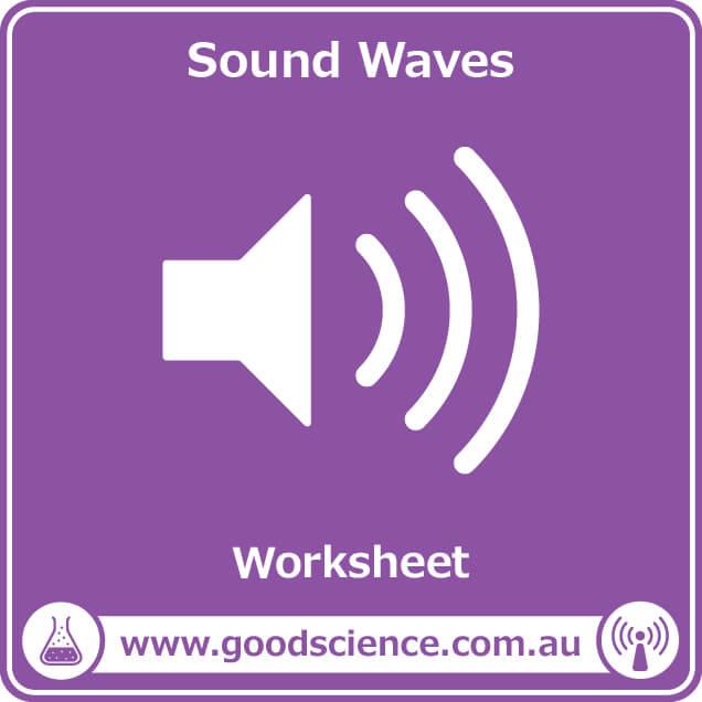 sound waves worksheet