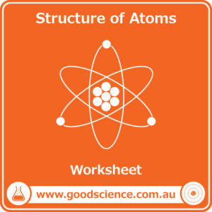 structure of atoms worksheet