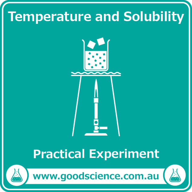 temperature and solubility practical laboratory experiment