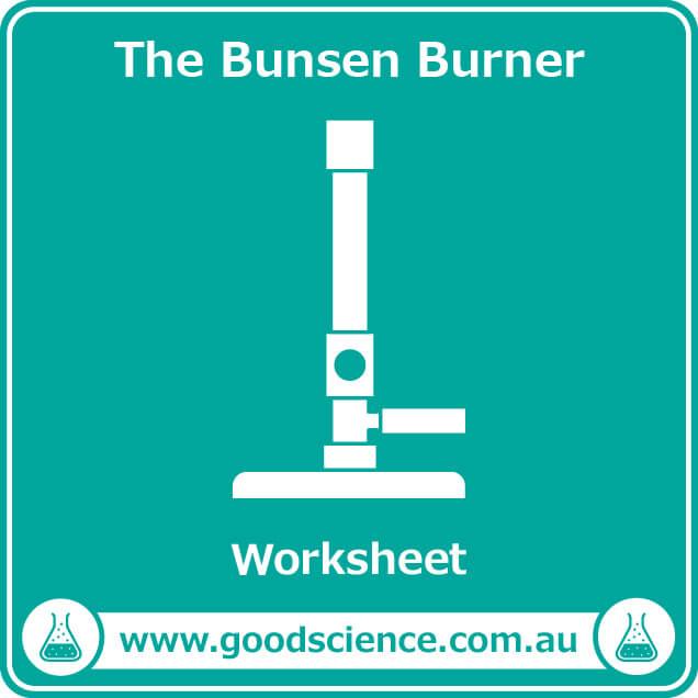 the bunsen burner worksheet