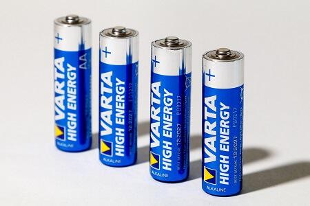 redox reaction batteries