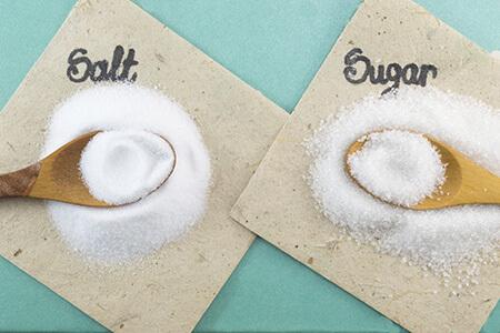 salt sugar ionic covalent