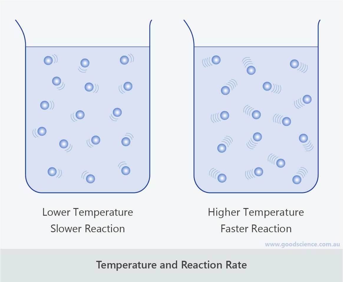 temperature reaction rate