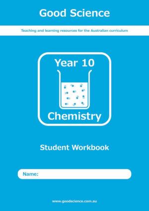 Year 10 Chemistry Print Workbook Australian Curriculum