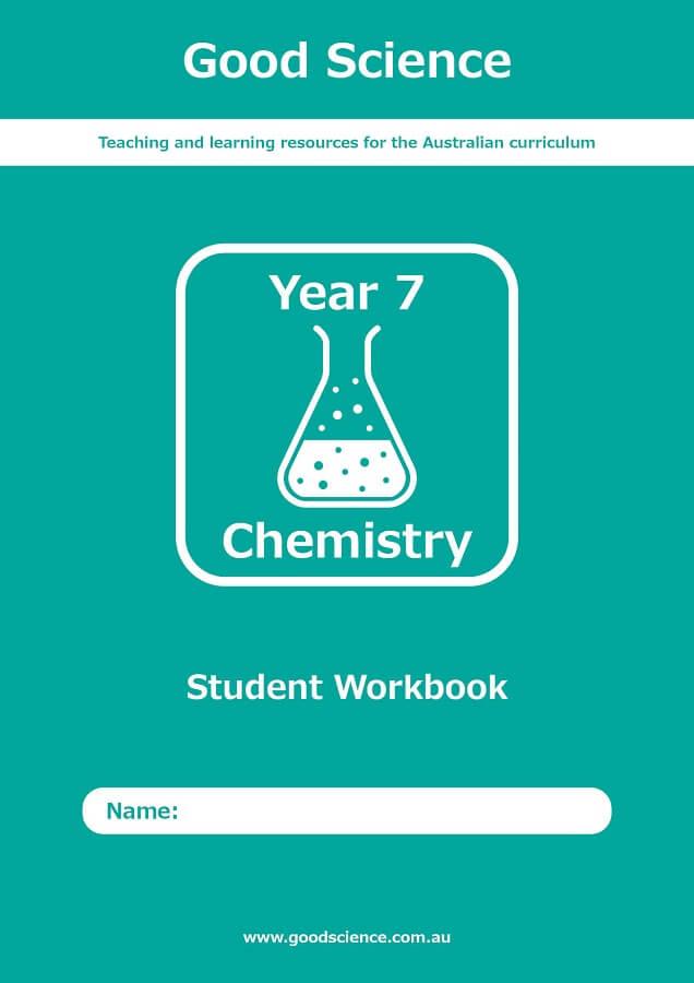 Year 7 Chemistry Print Workbook Australian Curriculum