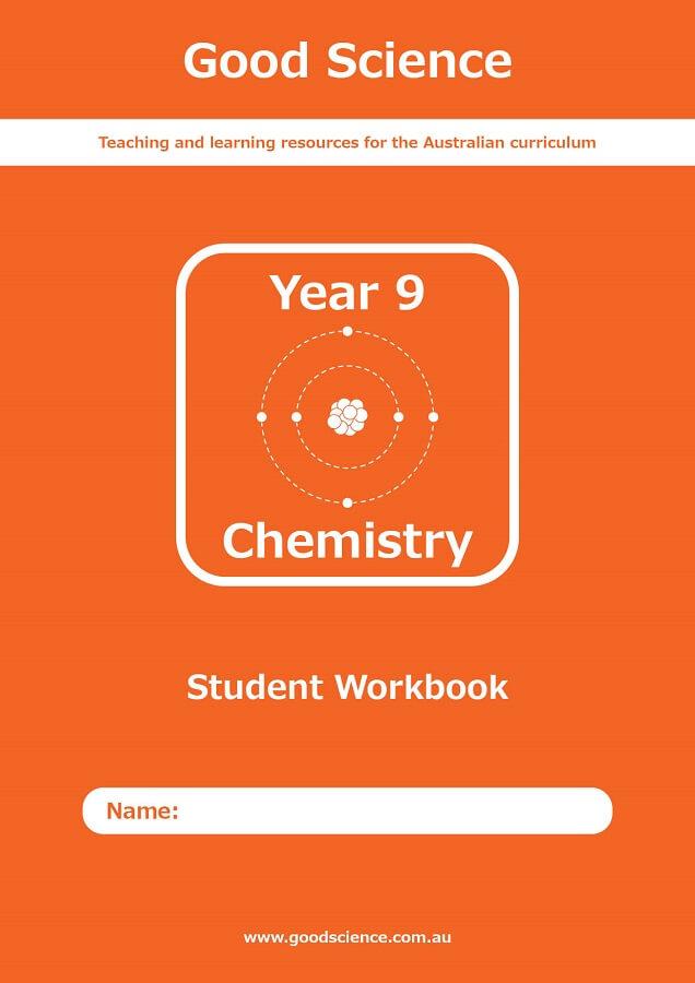 Year 9 Chemistry Print Workbook Australian Curriculum