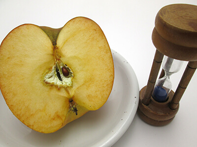 oxidation reaction fruit ripening